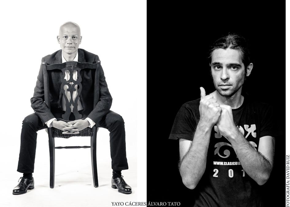 Yayo Cáceres y Álvaro Tato