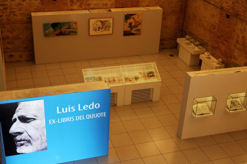 Exposición_Luis_Ledo_Ex-libris_del_Quijote_1