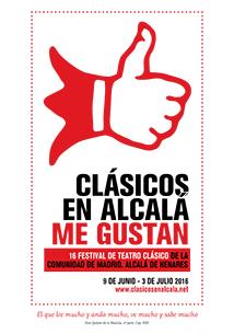CARTEL CLÁSICOS EN ALCALÁ 2016 carrusel