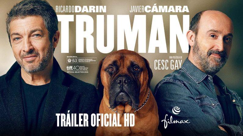 """""""Truman"""",  Miércoles 20 – Teatro Salón Cervantes. Jueves 21 – Centro SocioCultural Gilitos. Viernes 22 – Recinto Ferial. 22 h."""