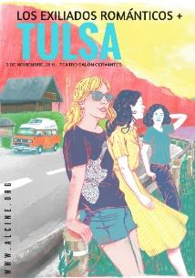 Tulsa + Los exiliados románticos