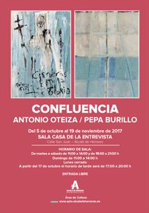 Confluencia. Antonio Oteiza-Pepa Burillo