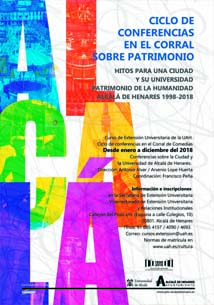 Cartel ciclo conferencias Patrimonio-carrusel