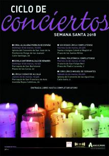 Conciertos de Semana Santa