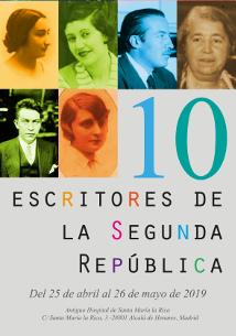cartel_carrusel_10_escritores_segunda_republica