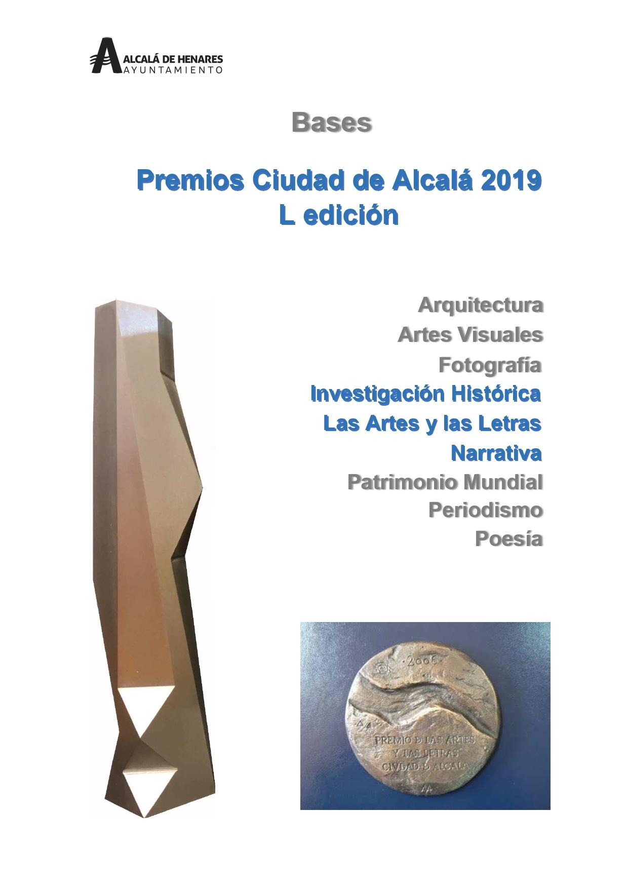 Premios Ciudad de Alcalá 2019