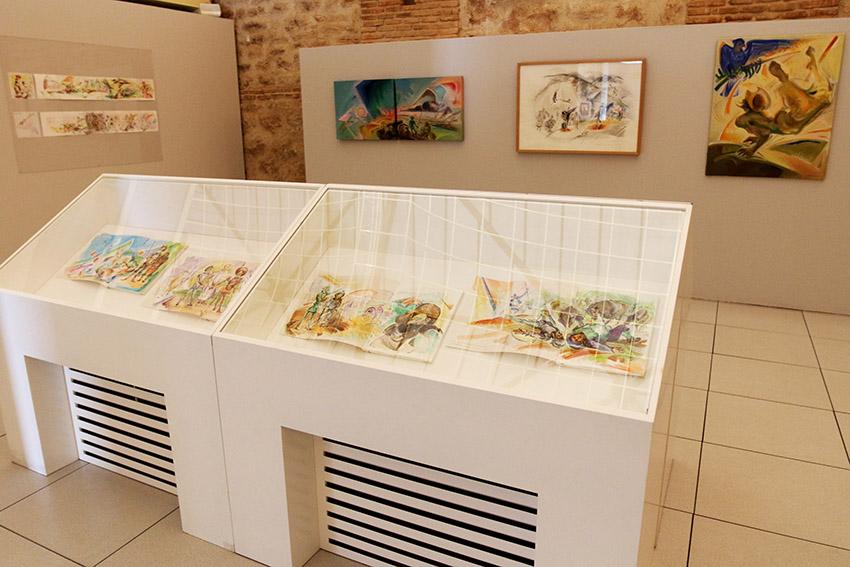 Exposición_Luis_Ledo_Ex-libris_del_Quijote_4
