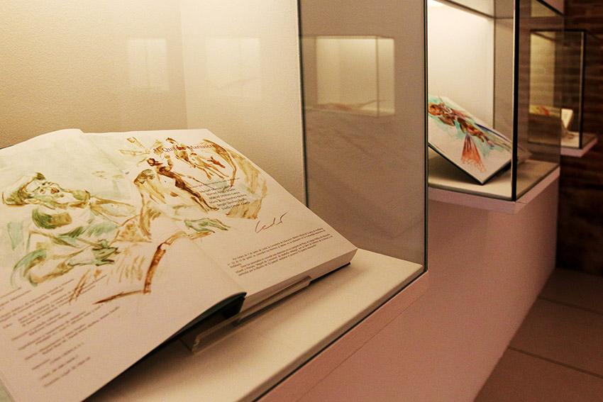 Exposición_Luis_Ledo_Ex-libris_del_Quijote_2