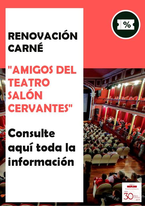 "Renovación carné ""Amigos del TSC"""