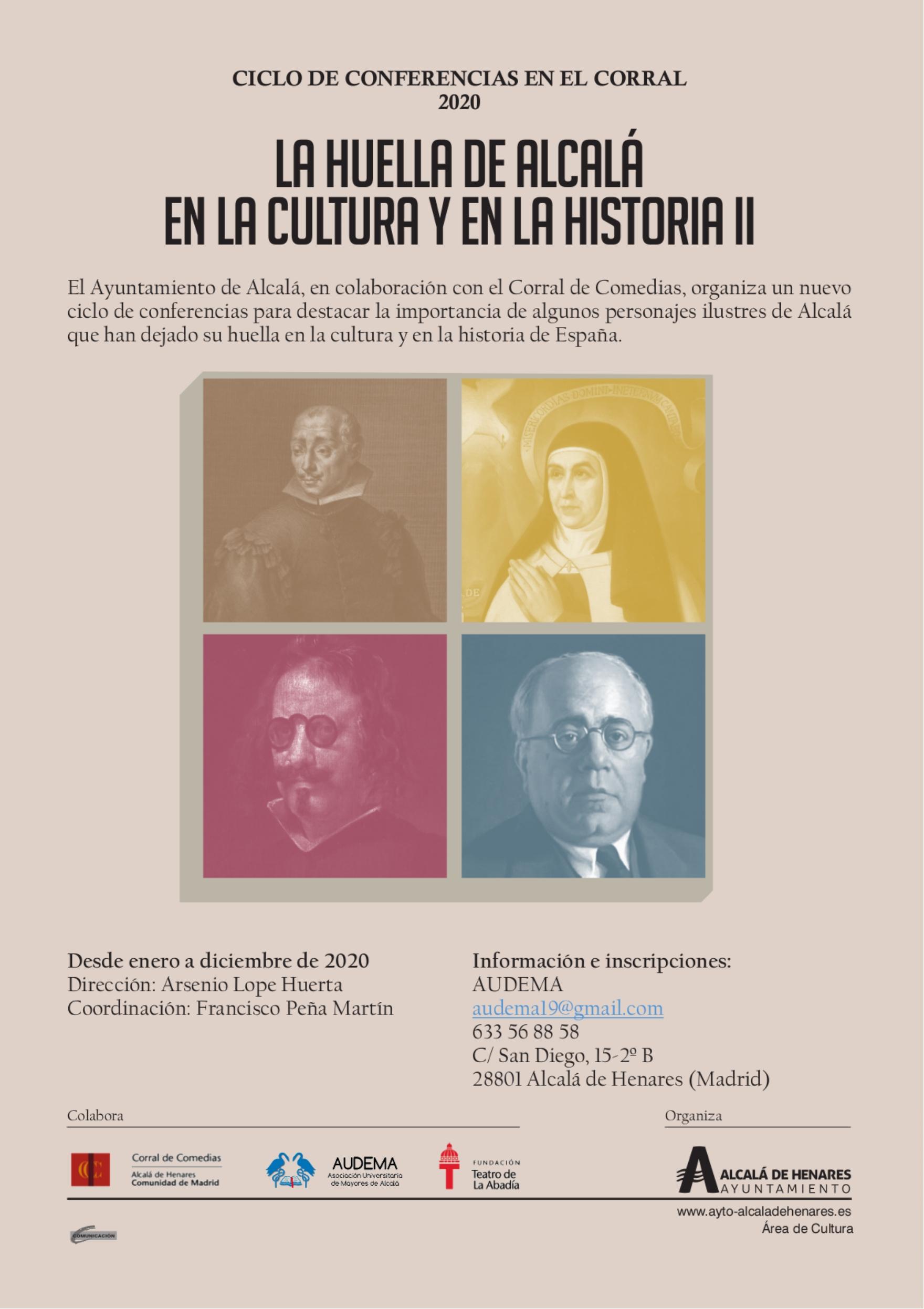 La huella de Alcalá en la Cultura y en la Historia II