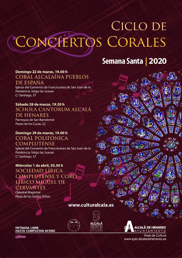 Conciertos Corales de Semana Santa