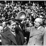 05 Azaña en la Plaza de Toros de Bilbao con Marcelino Domingo e Indalecio Prieto 1933_1