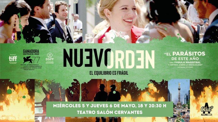 Nuevo orden. Miércoles 5 y jueves 6 de mayo, 18:00 y 20:30 h - Teatro Salón Cervantes